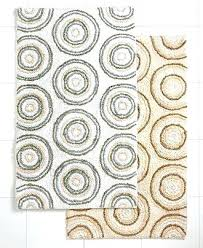 ultra spa by park b smith bath rug circles collection rugs mats bed chindi solid park b smith rugs