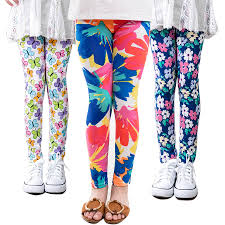 <b>girl pants new arrive</b> printing Flower girls leggings Toddler Classic ...