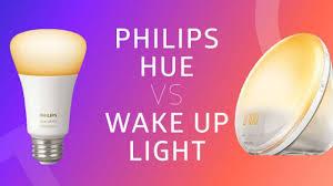 Philips Hue Wake Up Light Philips Hue Vs Philips Wake Up Light Alarm Hue Home Lighting