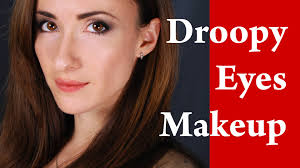 how to apply eyeliner on hooded droopy round and downturned eyes video tutorial you