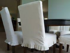 diy gorgeous slipcovers for parsons dining chairs slipcovers for dining chairs white dining room