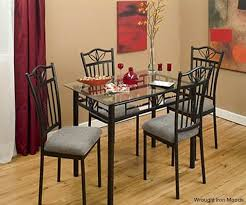 wrought iron indoor furniture. wrought iron dining sets indoor furniture