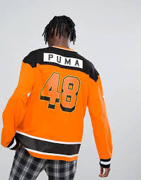 Sweat Exclusive In Asos Hockey Orange At Puma