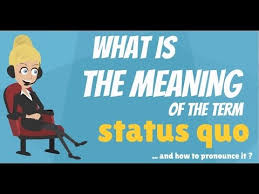what does status quo mean