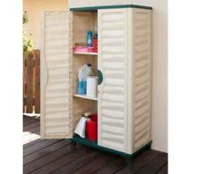 plastic outdoor storage cabinet.  Plastic Outdoor Storage Cabinet Plastic Horizontal Shed Garage Garden Utility  Lockable Throughout T