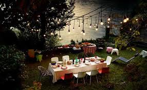 Outside Lighting Ideas For Parties Creative Outdoor Lighting Ideas For Backyard Party Outside Parties E