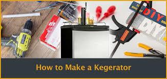 diy how to build a kegerator from scratch convert a fridge