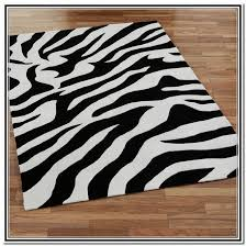 black and white area rugs style