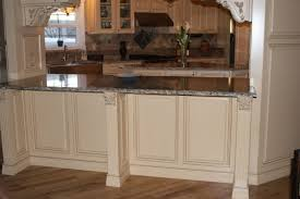 Nice French Country Gourmet Kitchen In A Manufactured Home   Panels And Molding Nice Design