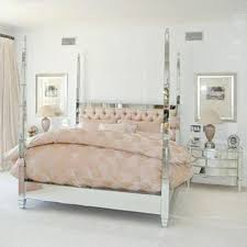 Mirrored Canopy Bed Pink Bedroom With Ceiling – theasetheticsurgeon.org