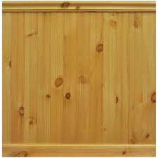 8 lin ft north america knotty pine tongue and groove wainscot paneling