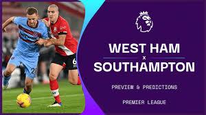 West ham 3 southampton 0: Ckdctcd8pseylm