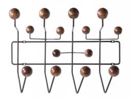 Eames Coat Rack Walnut Buy Coat Hangers at Atomic interiors Atomic Interiors 67