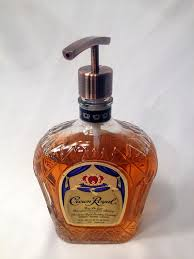 Cool soap dispenser Liquid Soap Buy Now From Etsycom Juxtapost Soap Dispenser Repurposed Liquor Bottle Crown Idealpin