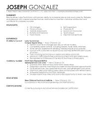 Automotive Resume Best Aerospace Medical Service Apprentice Sample Resume Simple Resume
