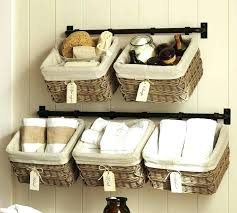 wall mounted basket storage unit build your own system pottery barn o wall hung storage basket wall mounted baskets wall mounted wire baskets for