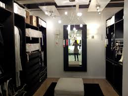 chic black closet organizers ikea plus shelves and chandelier with ottoman