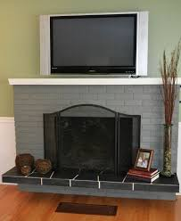 1000 ideas about update brick fireplace on
