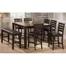 heritage brands furniture dining set big. Dark Brown 5 Piece Counter Height Dining Set - Transitional Elliott Heritage Brands Furniture Big G