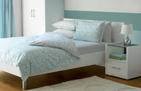 simple blue bedroom. Simple Yet Effective Light Blue Bedroom