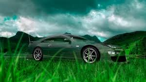nissan fairlady z jdm crystal nature car