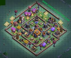 Base 7 Top 15 Best Builder Hall 7 Bh7 Defense Base Layouts New