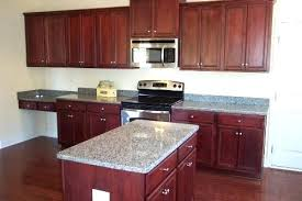 cherry cabinets with granite countertops steel grey granite island top with cherry cabinets kashmir white granite