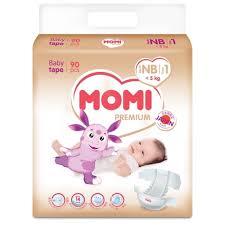Стоит ли покупать <b>Momi подгузники Premium NB</b> (0-5 кг) 90 шт ...