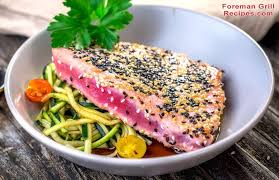 grilled tuna on a foreman grill recipe