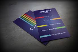 business card psd template stylish colorful business card psd template suitable for any kind
