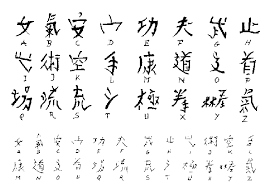 Letters For Tattoos Names Template Custom Hanzismatterblogspot Gibberish Asian Font Mystery Solved