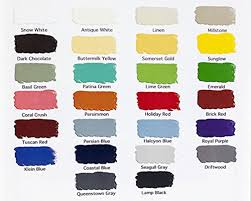 General Finishes Color Chart General Finishes Milk Paint Review A Water Based Friendly