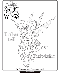 Small Picture TinkerBell Coloring Pages Periwinkle