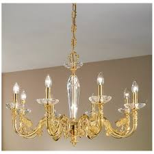 kolarz contarini crystal chandelier french gold