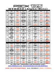 p90x t25 hybrid schedule workout planner