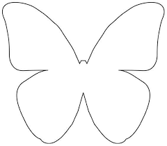 Butterfly Pattern Gorgeous Butterfly Patterns To Cut Out Selolinkco