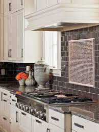 Dark Grey Backsplash Tile
