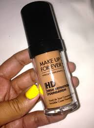 before after makeup forever hd foundation