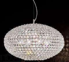 marquesa large crystal ceiling light pendant franklite lighting