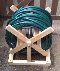 allotment update a homemade hose reel garden