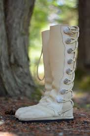 white buffalo wedding moccasins wedding boots by soulpathshoes