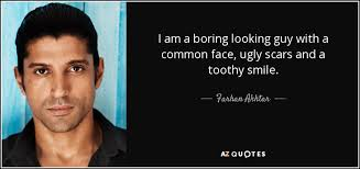 boring looking people. i am a boring looking guy with common face, ugly scars and toothy people p