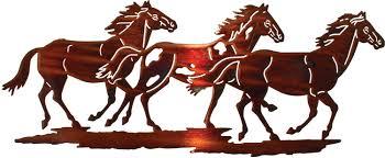 running horses laser cut metal wall art on laser cut metal wall art perth with running horses laser cut metal wall art deco pinterest laser