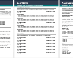 Resume The Best Resume Templates Online 100 Fully Editable