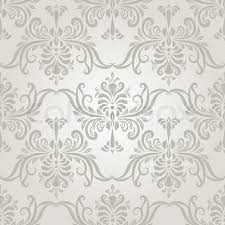 Vintage Wallpaper Patterns Custom Vector Seamless Vintage Wallpaper Pattern Stock Vector Colourbox