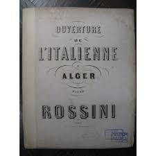 """Résultat de recherche d'images pour """"l'italienne à alger"""""""