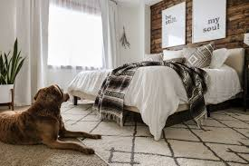 a modern rustic bedroom see how to blend two styles to create a modern rustic