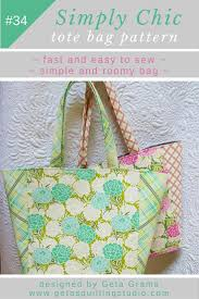 Tote Bag Designs Patterns Simple Tote Bag Patterns Scale