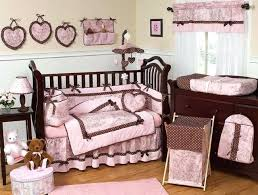 pink baby crib bedding pink brown baby crib bedding set by designs baby girl nursery bedding pink and grey
