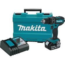makita cordless power tools. makita 18-volt lxt lithium-ion cordless 1/2 in. hammer drill/driver kit with 3.0 ah battery, rapid charger and hard case-xph102 - the home depot power tools